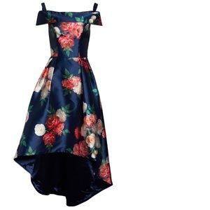 Chi Chi London High-Low Floral Gown